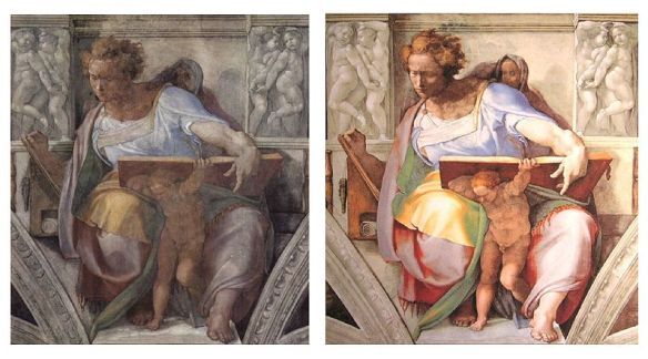 800px-Sistine_Chapel_Daniel_beforandafter