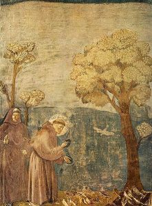 442px-Giotto_-_Legend_of_St_Francis_-_-15-_-_Sermon_to_the_Birds