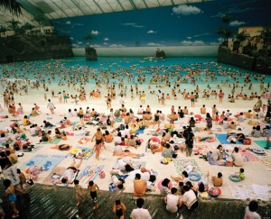 Japan. Miyazaki. The Ocean Dome. 1996. from Life's A Beach (Aperture, 2013)